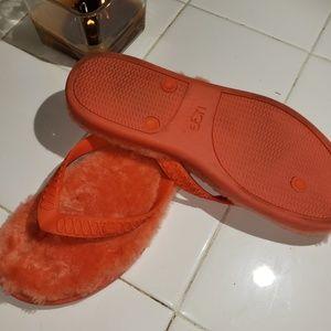 UGG Shoes - Ugg orange flip flop sandals size 7w